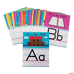 ABCs of the Bible Classroom Border