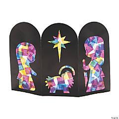 Accordion Nativity Scene Craft Kit