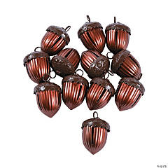 Acorn-Shaped Jingle Bells