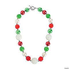 Acrylic Christmas Chunky Necklace Craft Kit