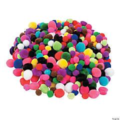 Acrylic Tiny Pom-Poms
