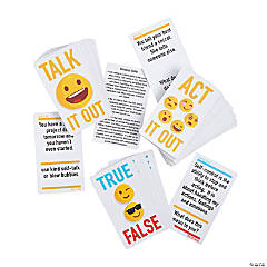 Act It Out Coping Skills Game