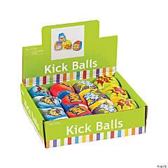 Action-Packed Superhero Kick Balls
