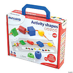 Activity Shapes (Giant Beads) and Laces