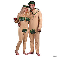 adam and eve couples costume
