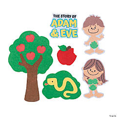 Adam & Eve Glove Bible Characters