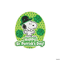 Adhesive Foam Snoopy Leprechaun Magnet Craft Kit