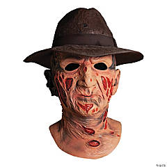 Adult A Nightmare on Elm Street Deluxe Freddy Mask with Hat