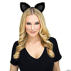 Adult Black Cat Headband