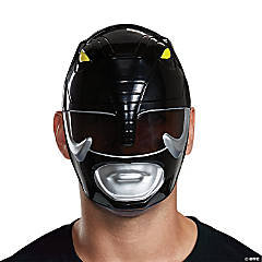 Adult Black Power Ranger Mask