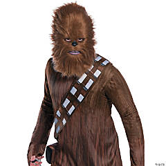 Adult Classic Star Wars™ Chewbacca Mask with Fur