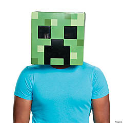 Adult Creeper Minecraft Mask