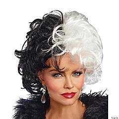 Adult Dalmatian Diva Wig