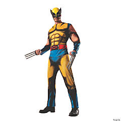 Adult Deluxe Muscle Chest Wolverine Costume