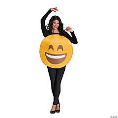 Adult Emoji Smile Costume