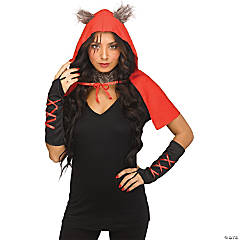 Adult Enchanted Woods Red Hood Instant Kit