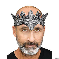 Adult Gothic Medieval King Crown