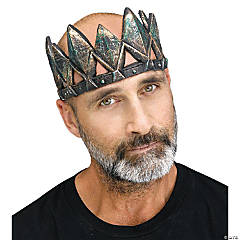 Adult Gothic Skull King Crown