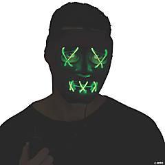 Adult Green String Illumo Mask