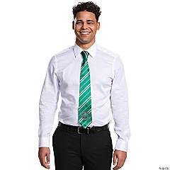 Adult Harry Potter Slytherin Tie