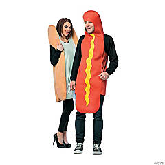 adult hot dog bun couples costume