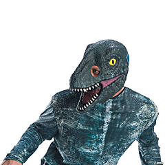 Adult Jurassic World: Fallen Kingdom™ Blue Velociraptor 3/4 Mask