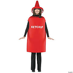 Adult Ketchup Costume - Standard