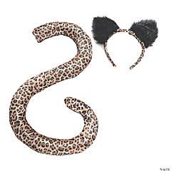 Adult Leopard Tail & Ears Set