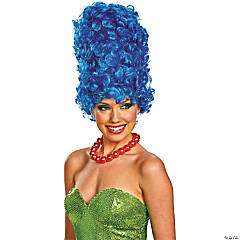 Adult Marge Deluxe Glam Wig
