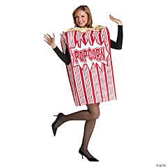 Adult Movie Night Popcorn Costume - Standard