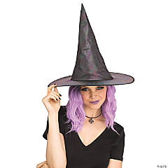 Adult Oil Slick Witch Hat