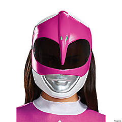 Adult Pink Power Ranger Mask