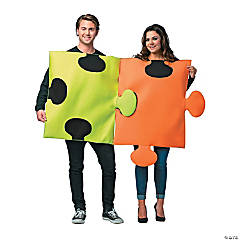 adult puzzle pieces couples costume