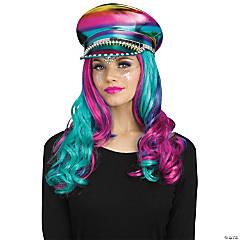 Adult Rainbow Festival Hat