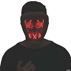 Adult Red String Illumo Mask