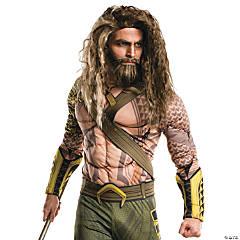 Adult's Aquaman Beard & Wig Set