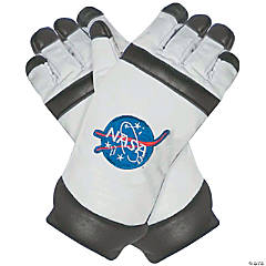 Adult's Astronaut Gloves - White