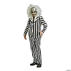 Adult's Beetlejuice Costume - Extra Large