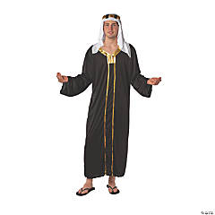 Adult's Black & Gold Shepherd Costume