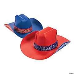 Adult's Cardboard Cowboy Hats