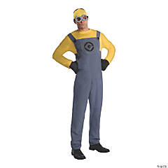 Adult's Despicable Me 2 Dave Minion Costume - Standard