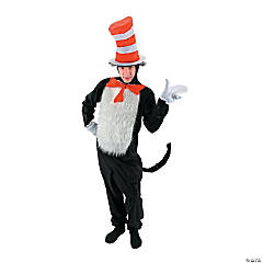 Adult's Dr. Seuss™ The Cat In The Hat Costume - Small/Medium