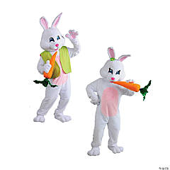 Adult's Easter Bunny Couple Costumes