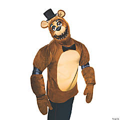Adult's Five Nights at Freddy's Freddy Halloween Costume - Small