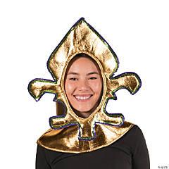 Adult's Fleur De Lis Costume Headpiece
