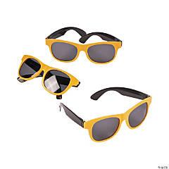 ad5c9bafe252 Adult s Gold   Black Two-Tone Sunglasses - 12 ...