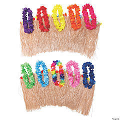 Adult's Hula Kit with Premium Leis for 12