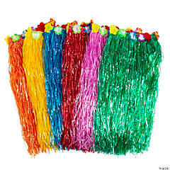 Adult's Layered Hula Skirts