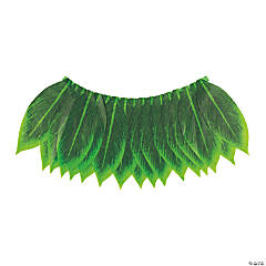 Adult's Luau Banana Leaf Skirt