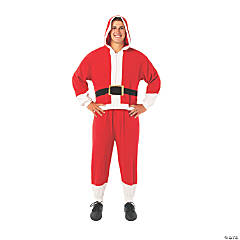 Adult's Onesie Santa Costume